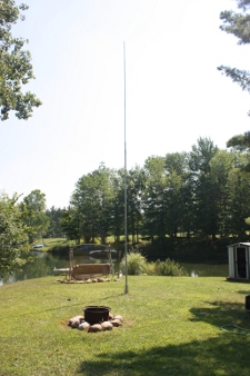 Simple Vertical antenna install